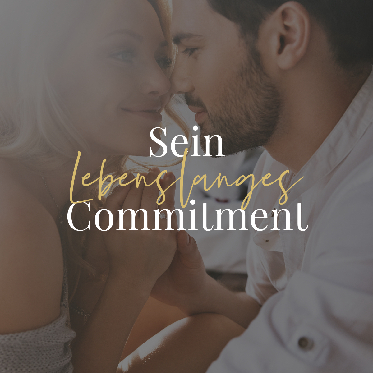 Sein lebenslanges Commitment